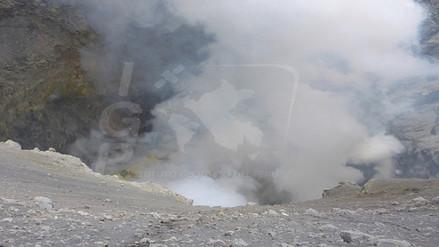 Vulcanólogos identifican deformación en caldera del volcán Ubinas