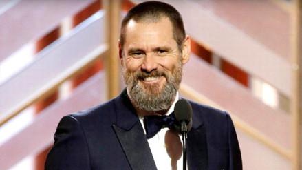 Jim Carrey reapareció en público tras el funeral de su ex novia