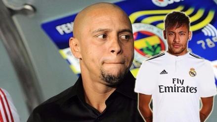 Barcelona: Neymar podría llegar al Real Madrid, según Roberto Carlos