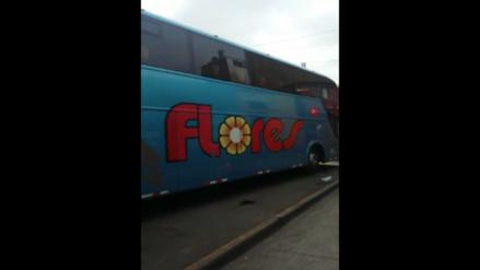 La Victoria: buses interprovinciales bloquean paradero
