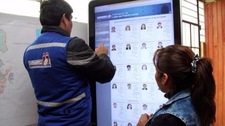 Casi 23 millones de peruanos están aptos para votar en próximos comicios