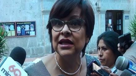 Fiscalía: no hay nada irregular en prisión preventiva de Delia Flores