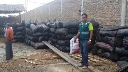 Decomisan carbón de procedencia ilegal en Sullana