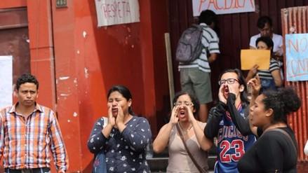 Universidad Villarreal: adoptarán acciones contra quienes tomaron facultad