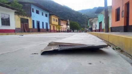 Fuertes vientos dejan 30  viviendas afectadas