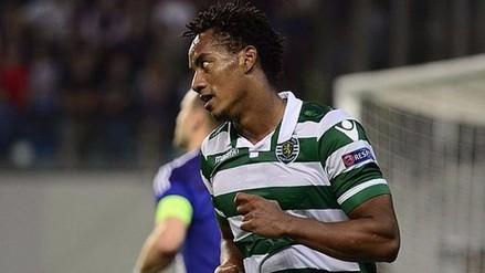 André Carrillo recibió duras palabras del presidente del Sporting Lisboa