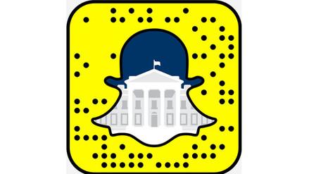 La Casa Blanca lanzó una cuenta en Snapchat para acercarse más a los jóvenes
