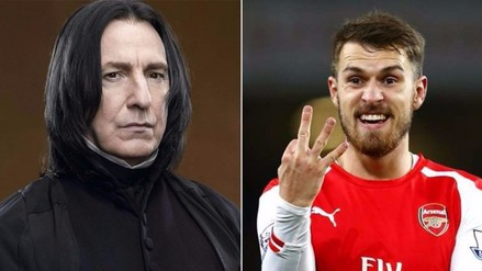 YouTube: Aaron Ramsey volvió a marcar y falleció actor de Harry Potter