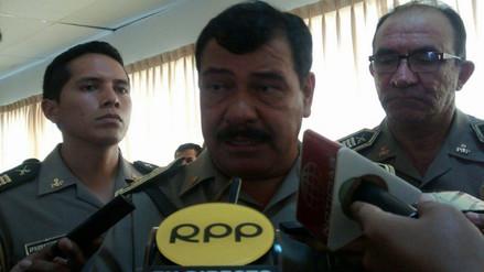 Jefe policial de Lambayeque anuncia reducción de personal administrativo