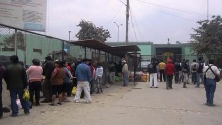 Sujetos arrojan dos paquetes al interior de Penal El milagro de Trujillo