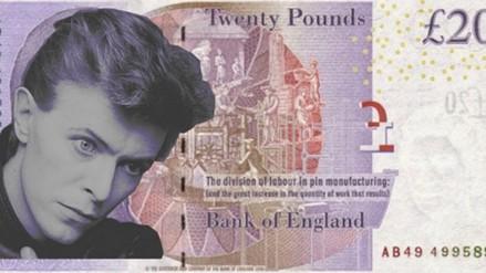David Bowie: 18 mil firman para poner su rostro en billetes de 20 euros