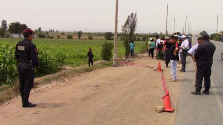 Huaral: hallan sin vida a sujeto con aparente corte de machete en la cabeza