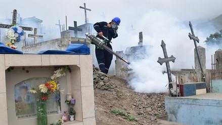 VMT: fumigan cementerio para erradicar dengue y chikungunya