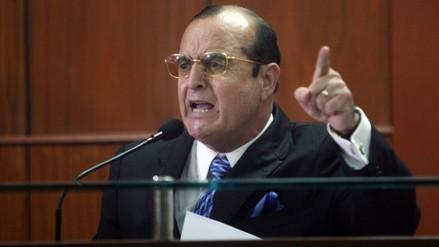 Montesinos denunciará a Nadine Heredia por vincularlo con 'Vaticano'