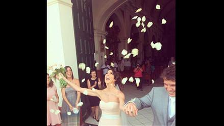 Chiara Pinasco, hermana de Bruno Pinasco, se casó en Chilca