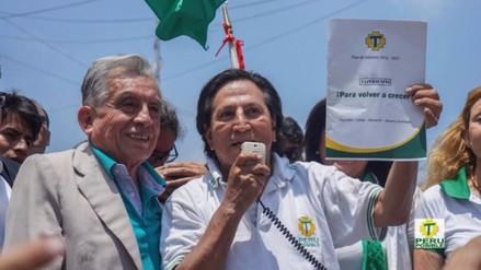 Alejandro Toledo propone aumento de 5 mil soles para los policías
