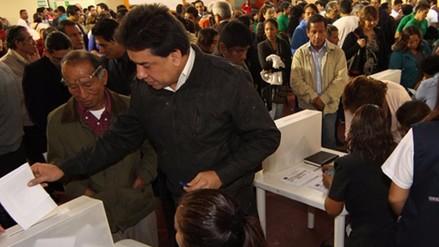 Acción Popular elige candidatos al Congreso con asistencia de la ONPE