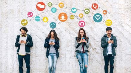 ¿En qué redes sociales andan los jóvenes de ahora?