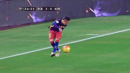 YouTube: Neymar desató la euforia con este control en el Barcelona