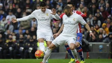 YouTube: ¿James Rodríguez realmente lesionó a Karim Benzema?