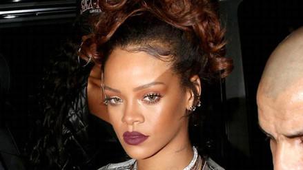 Rihanna se prepara para el Super Bowl