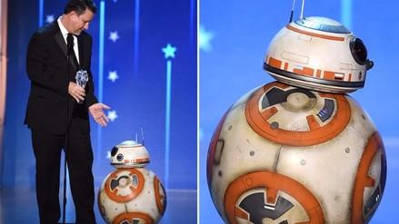 Critics' Choice Awards: tierno BB-8 de Star Wars causó sensación