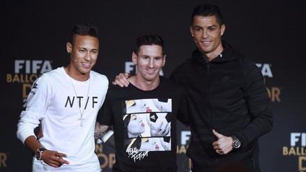 Facebook: Cristiano Ronaldo ayudó a Messi y Neymar en gala del Balón de Oro