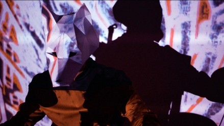 Lobo y La Corporación juntos en show de rock electrónico