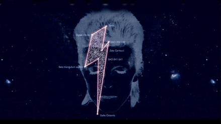 David Bowie tiene una constelación con su nombre