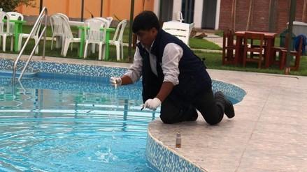 Huaral: inspeccionan piscinas para evitar enfermedades