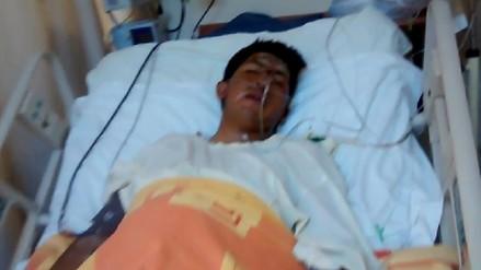 Inspector de SUTRAN despierta de coma tras atropello