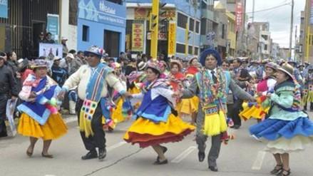 Juliaca: tradicional Qashwa de San Sebastián da inicio al carnaval juliaqueño