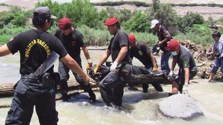 Pataz: Un muerto y tres heridos tras caída de camión a río Marañón