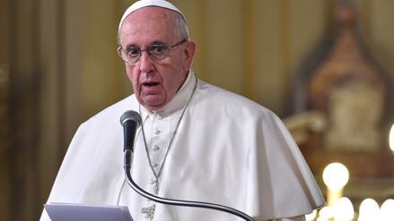 El papa Francisco envía mensaje al Foro de Davos: