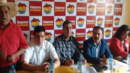 Cajamarca: presentan candidatos al Congreso por Democracia Directa