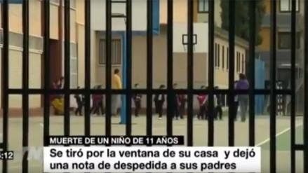 España: revelan carta de niño que se suicidó por pesunto caso de bullying