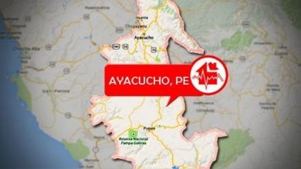 Sismo de 4.3 grados se registró en el distrito de Pausa