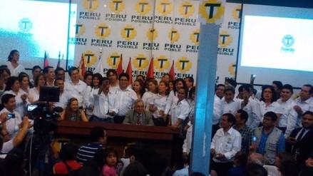 Toledo presentó a los candidatos al Congreso de Perú Posible
