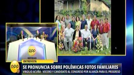 APP aclaró foto y negó vínculos con los Sánchez Paredes