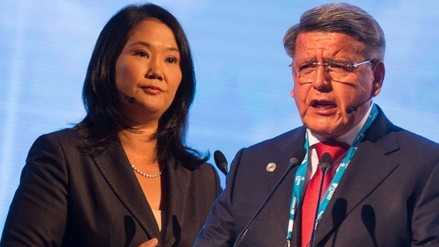 Keiko Fujimori y César Acuña se disputan a electores de Ollanta Humala