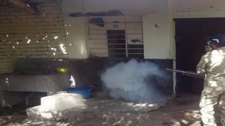 Preparan fumigación de 5 mil viviendas en Tumán por casos de dengue
