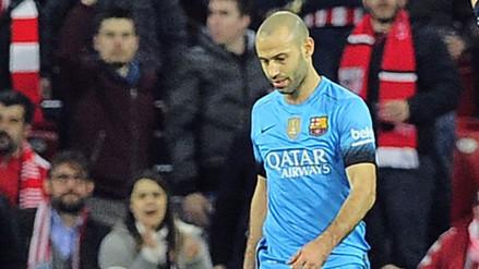 Barcelona: Mascherano aceptó un año de cárcel por fraude, aunque pide sustituirla por multa