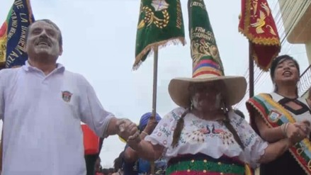 Realizan pasacalle para promocionar Carnaval de Catacaos