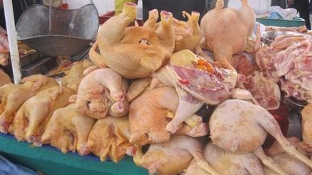 La carne de pollo se vende a 6.80 el kilo en mercados de Arequipa