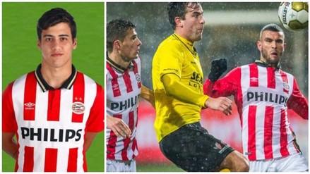 Beto Da Silva: Jong PSV venció 2-1 al VVV Venlo de Holanda (VIDEO)