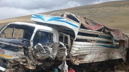 Tarma: accidente de  tránsito deja un muerto y un herido