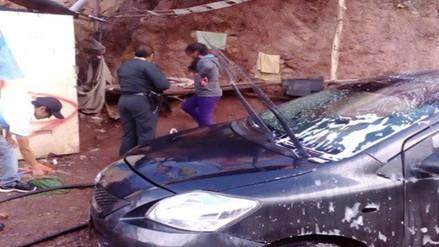 Intervienen a menores lavando carros en calles de Santiago