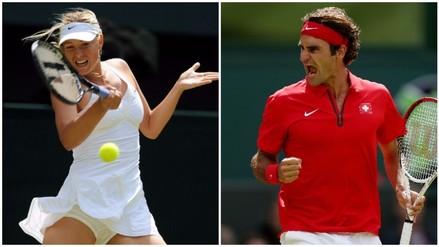 YouTube: Roger Federer se volvió loco con espectacular punto de Maria Sharapova (VIDEO)