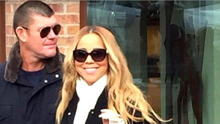 Mariah Carey se comprometió con su novio James Packer