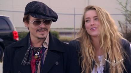 Johnny Depp y Amber Heard estarían en la espera de su primer hijo